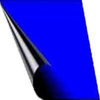 Cobertores de invierno azul-negro de 620 g