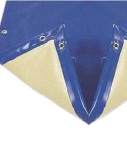 Cobertores de invierno azul-beige de 610 g