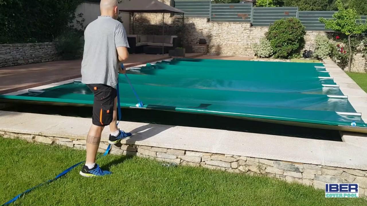 Cobertor de barras para invierno y verano color a elegir for Cobertor piscina carrefour
