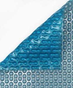 Cobertores de verano premium plata-azul de 500 micras geobubble