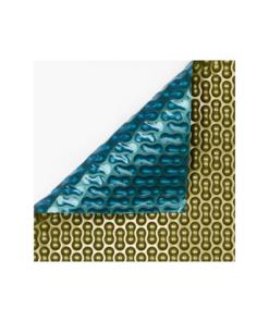 Cobertores de verano premium oro-azul de 500 micras geobubble