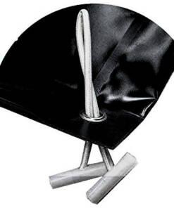 Cobertores de invierno negro de 610 g